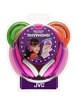 JVC Tiny Phones Kids Stereo Headphones Pink