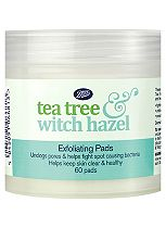 Boots Tea Tree & Witch Hazel Exfoliating Pads