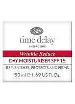 Boots Time Delay Wrinkle Reduce Day Cream SPF15 50ml