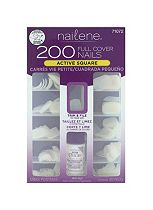 Nailene 200 Full Cover Nails - Active Length Square