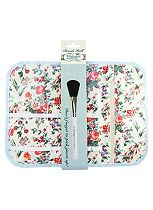 The Vintage Cosmetic Company floral brush roll