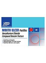 Boots  Mouth Ulcer Pastilles - 24