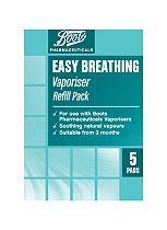 Boots Easy Breathing Vaporiser Refill Pack - 5 Pads