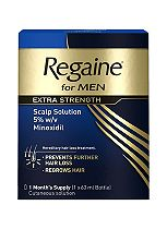 Regaine for Men Extra Strength 60ml 1 months supply