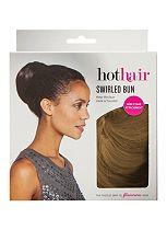 Hot Hair Swirled Bun Creamy Twist