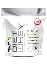 PhD Diet Whey Protein Strawberry Delight  with sweetener - 1kg