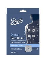 Boots Pharmaceuticals TENS Digital Pain Relief Unit Replacement Pads - 8 Pads