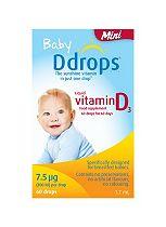 Baby Ddrops® Mini 7.5 μg 60 drops