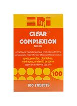 HRI Clear Complexion Tablets 100