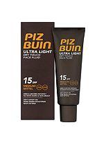 PIZ BUIN® Ultra Light Dry Touch Face Fluid SPF15 50ml