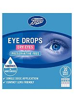 Boots Pharmaceuticals Dry Eyes Single Dose Eye Drops