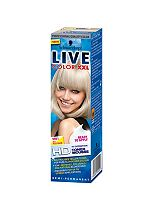 Schwarzkopf LIVE Color XXL HD M01 Icy Platinum Semi-Permanent Toner Mousse Blonde Hair Dye