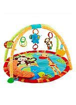 Bright Starts Safari Tales Activity Baby Play Mat & Gym
