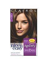 Nice'n Easy AgeDefy Permanent Hair Colour Shade 4 Dark Brown
