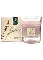 RHS Gardens Wax Filled Glass English Lavender