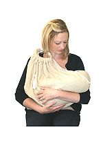 Snugglebundl Baby Lifting Blanket - Barley Cream