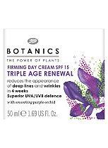 Botanics Triple Age Renewal Firming Day Cream SPF 15 50ml