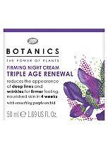 Botanics Triple Age Renewal Firming Night Cream