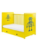 Cosatto Story 3-in-1 Cot Bed - Robot