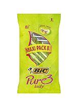 BIC® Pure 3 ? Maxipack 8 Pack