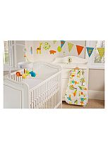 Gro Company Safer Sleep Nursery Set - Jolly Jungle