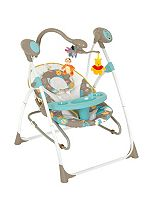 Hauck Winnie The Pooh 2-in-1 Baby Swing & Rocker - Spring in the Woods