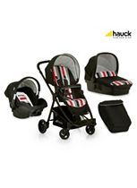 Hauck London All in One Travel System - Rainbow Black