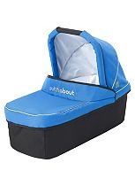Out 'n' About Nipper V3 & V4 Carrycot - Lagoon Blue