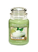 Yankee Candle Classic Large Jar Candle in Vanilla Lime