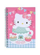 Hello Kitty Tea Party A5 notebook
