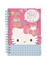 Hello Kitty Tea Party A6 die cut notebook