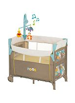 Hauck Dream 'n Care Travel Cot - Spring in the Woods