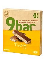 Wholebake Nutty 9bar 4 x  40g