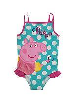 Girls Peppa Pig Swimming Costume - Mini Club