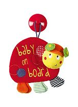 Mamas & Papas Babyplay Lotty Ladybird Baby on Board Sign Toy