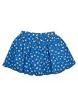 Girls Blue Cherry Print Skirt - Mini Club