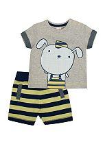 Baby Boy 2 Piece Jersey Set - Mini Club
