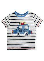 Boys Police Car T-shirt - Mini Club