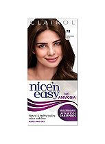 Nice'n Easy No-Ammonia Shade 78 Medium Golden Brown Up To 24 Shampoos