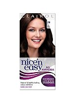 Nice'n Easy No-Ammonia Shade 79 Dark Brown up to 24 Shampoos