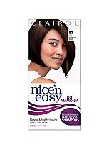 Nice'n Easy No-Ammonia Shade 82 Dark Warm Brown up to 24 Shampoos