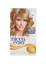 Nice'n Easy Permanent colour #8 Natural Medium Blonde (Former shade #103A)