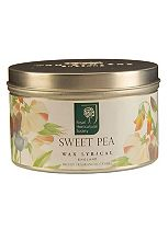 RHS Collection Sweet Pea Scented Candle Tin