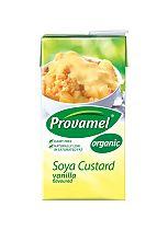 Provamel soya vanilla custard packet 525g