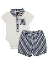 Baby Boy 2 Piece Polo Set - Collectables
