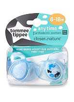 Tommee Tippee Closer to Nature Anytime Soother x2 - 6-18 months