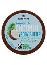 Boots Extracts [Coconut Body Butter] 200ml Containing Fairtrade ingredients