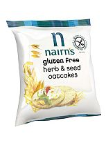 Nairn's Gluten Free Herb & Seed Oatcakes 135g