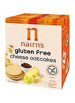 Nairn's Gluten Free Cheese Oatcakes 135g