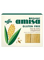 Amisa Organic Gluten Free Rice & Corn Crispbread 150g